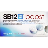 SB12 Boost strong mint, 10 stk.